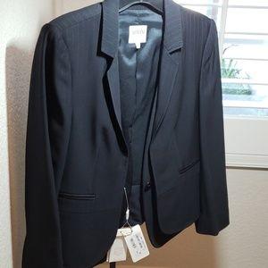 Brand new Armani Collezioni BLK pinstripe blazer